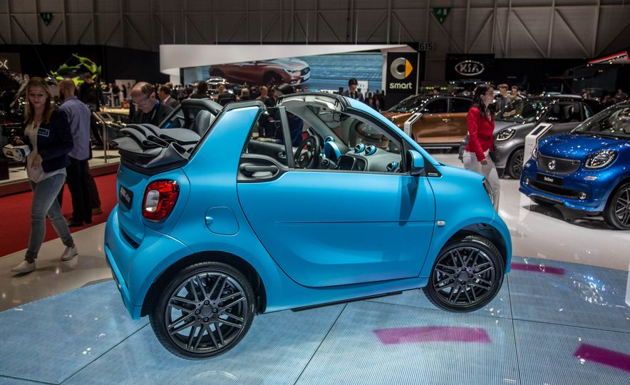 Smart Fortwo cabriolet Brabus edition - Slide 5