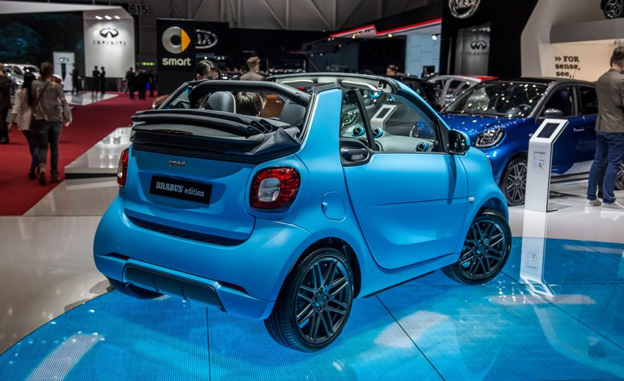 Smart Fortwo cabriolet Brabus edition - Slide 6