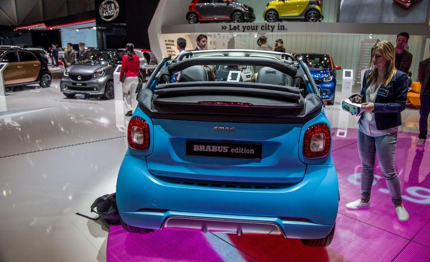 Smart Fortwo cabriolet Brabus edition - Slide 8