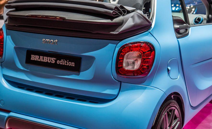 Smart Fortwo cabriolet Brabus edition - Slide 12