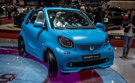Smart Fortwo Cabrio Brabus Edition: Shockingly, It Doesn't Have 600-Plus Horsepower