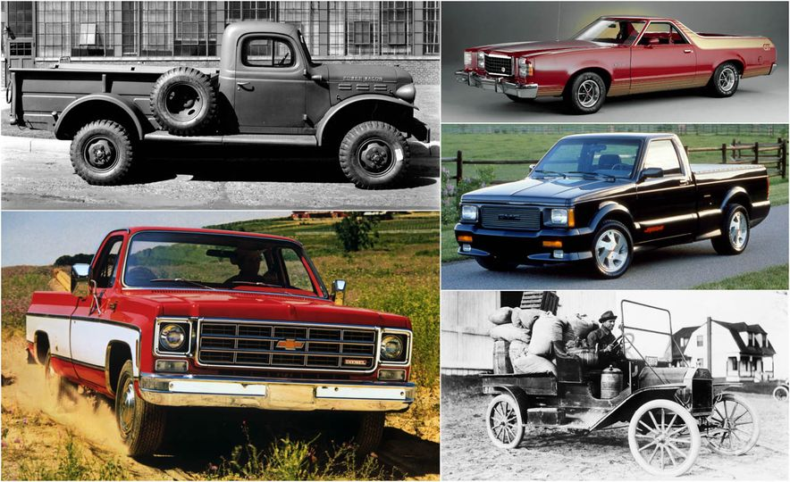An Illustrated History of the Pickup Truck - Slide 1