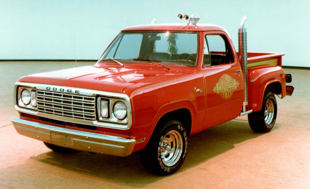 An Illustrated History Of The Pickup Truck 1961 Dodge