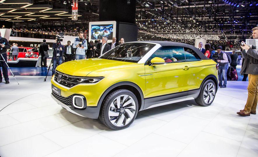 Volkswagen T-Cross Breeze concept - Slide 1