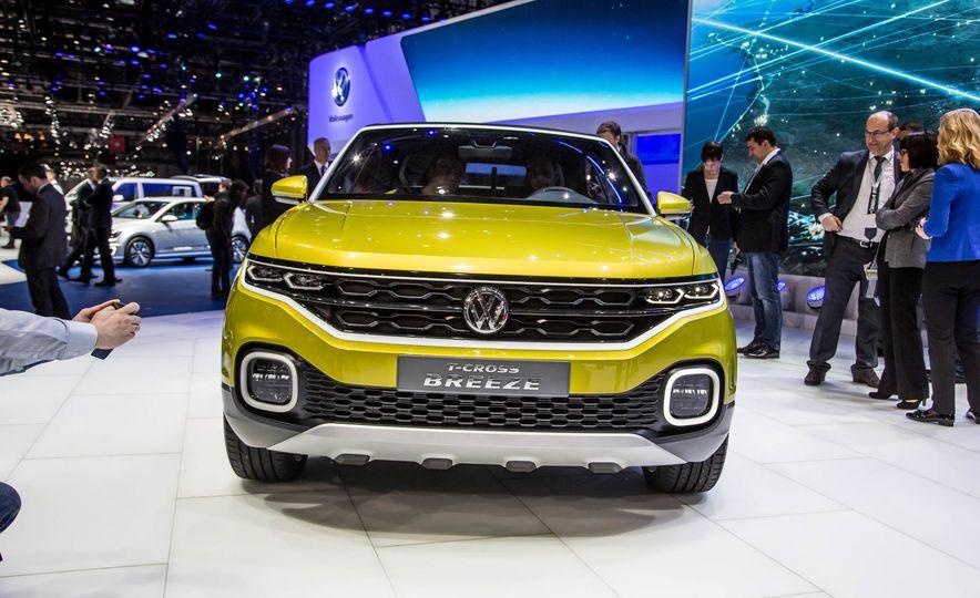 Volkswagen T-Cross Breeze concept - Slide 2