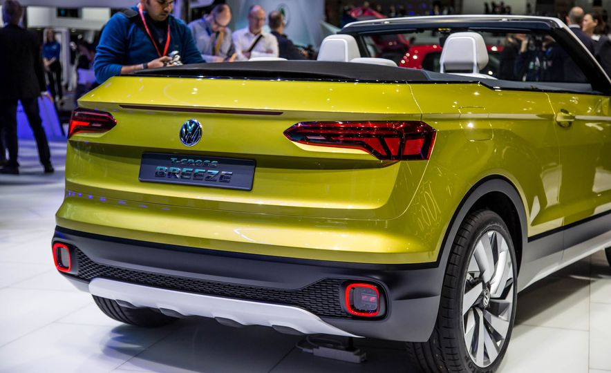 Volkswagen T-Cross Breeze concept - Slide 16