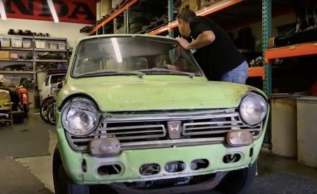Hondas First US Bound Car Undergoing Restoration News Car And