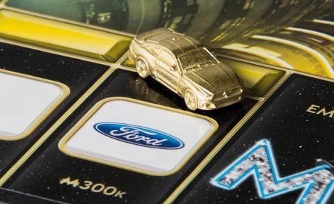 Imperial Horse: New Monopoly Empire Features Ford Mustang Gamepiece