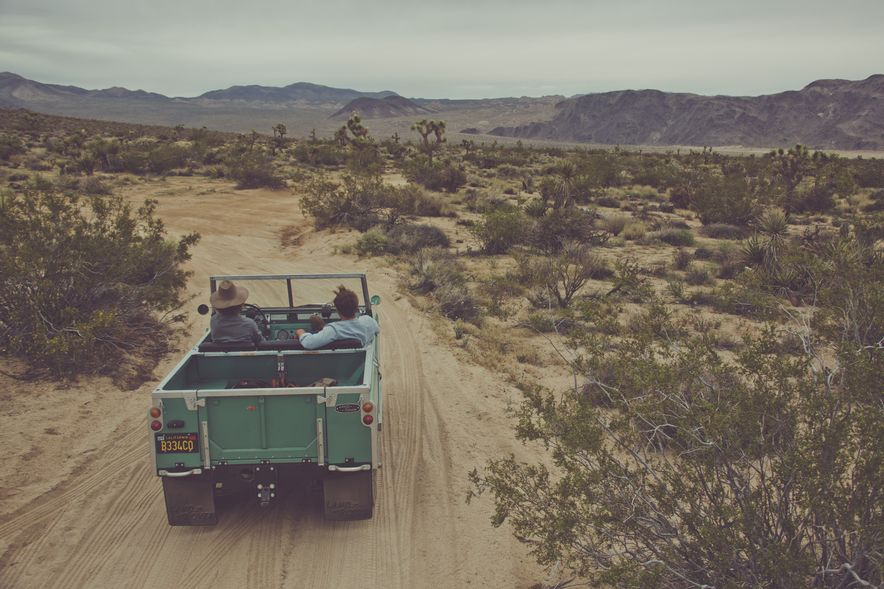 Destination Adventure: Driving the Mojave in a Land Rover Series IIA, Part 1 - Slide 1