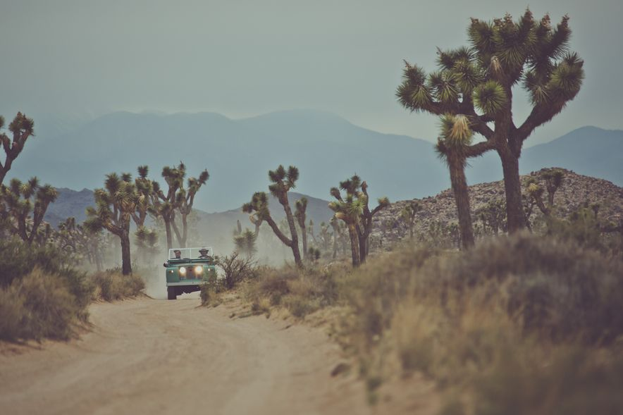 Destination Adventure: Driving the Mojave in a Land Rover Series IIA, Part 2 - Slide 2