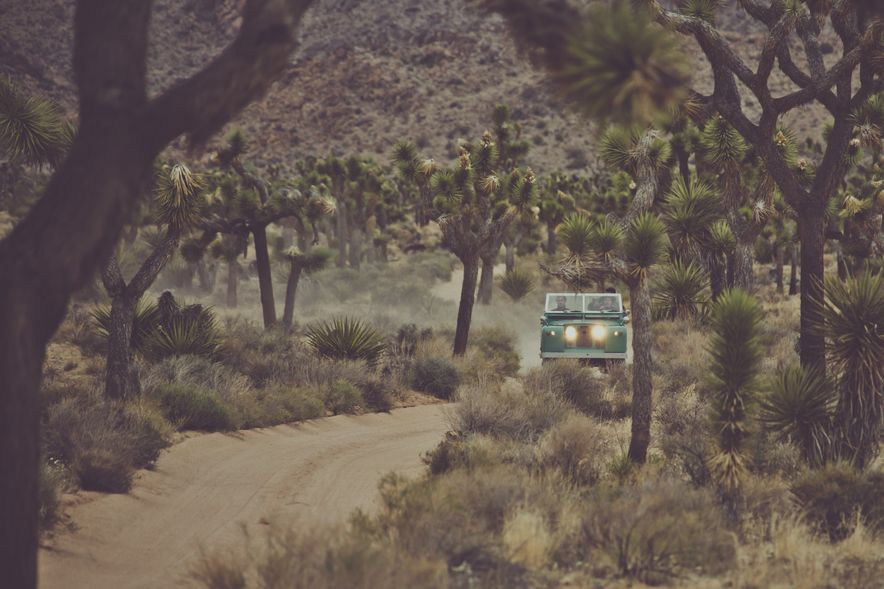 Destination Adventure: Driving the Mojave in a Land Rover Series IIA, Part 1 - Slide 2