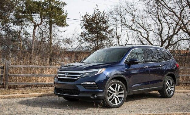 2019 Honda Pilot Reviews Price Photos And Specs Car Driver