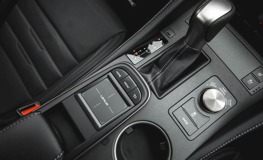 2016 Lexus RC200t F Sport - Slide 48