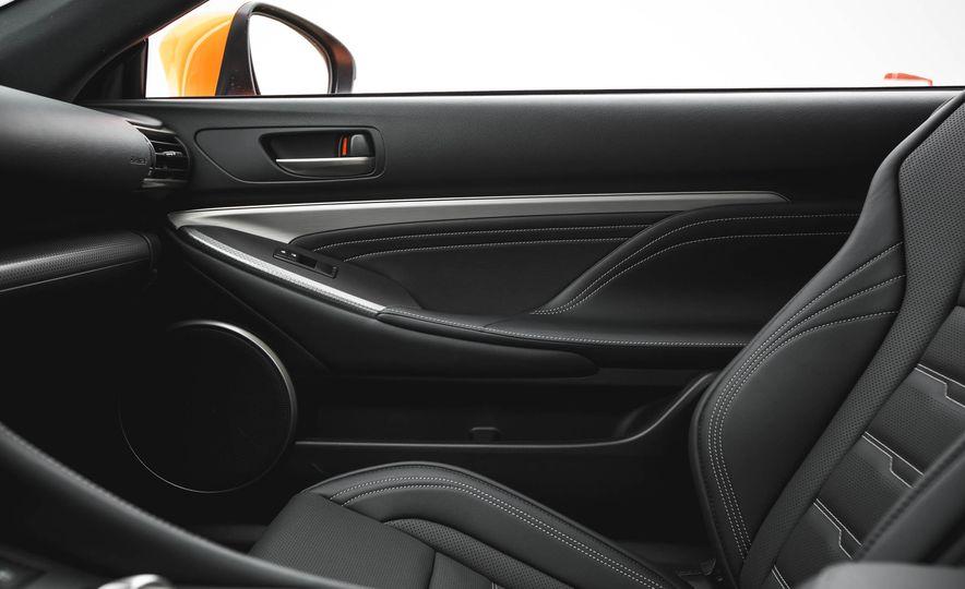 2016 Lexus RC200t F Sport - Slide 49