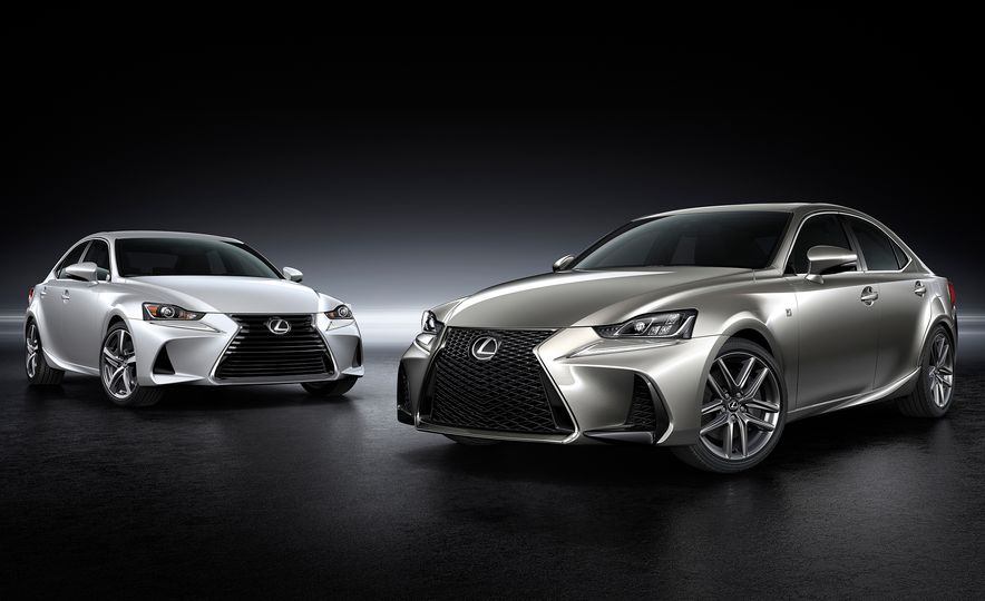 2017 Lexus IS300 and IS200t F Sport - Slide 1