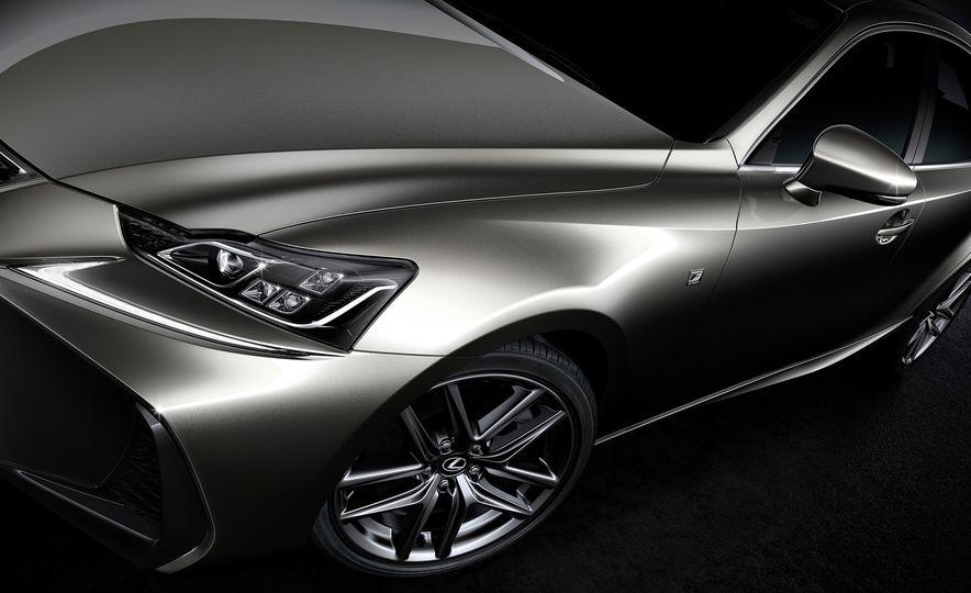 2017 Lexus IS300 and IS200t F Sport - Slide 6