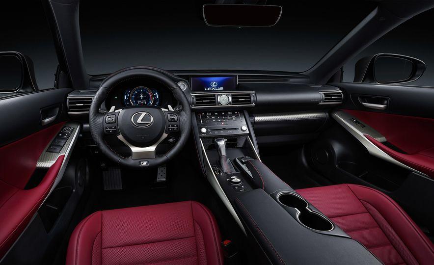 2017 Lexus IS300 and IS200t F Sport - Slide 8