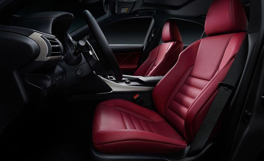 2017 Lexus IS300 and IS200t F Sport - Slide 9
