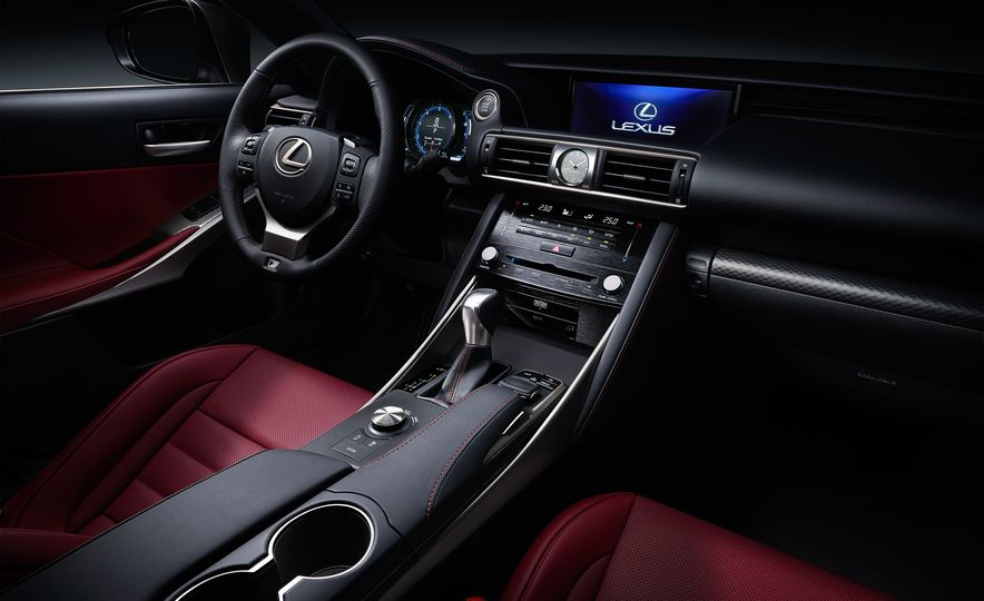 2017 Lexus IS300 and IS200t F Sport - Slide 10