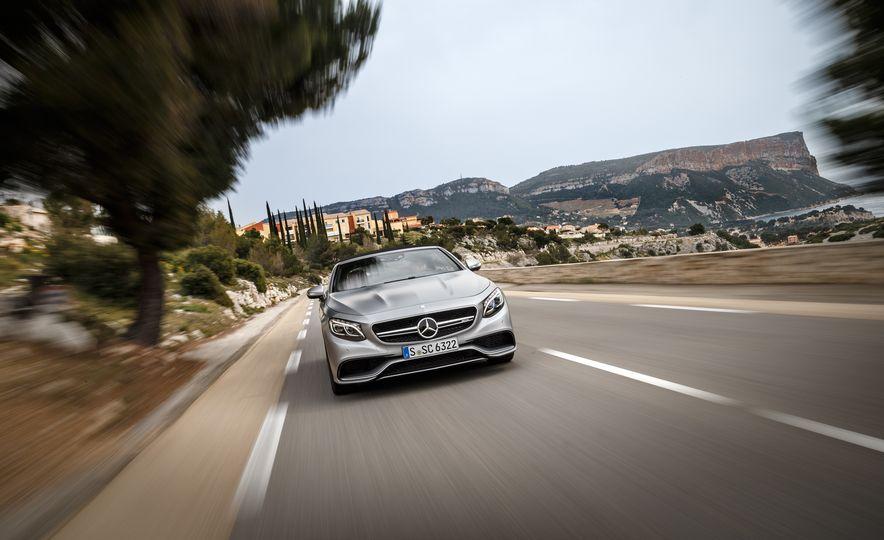2017 Mercedes-Benz S500 cabriolet (Euro-spec) - Slide 49
