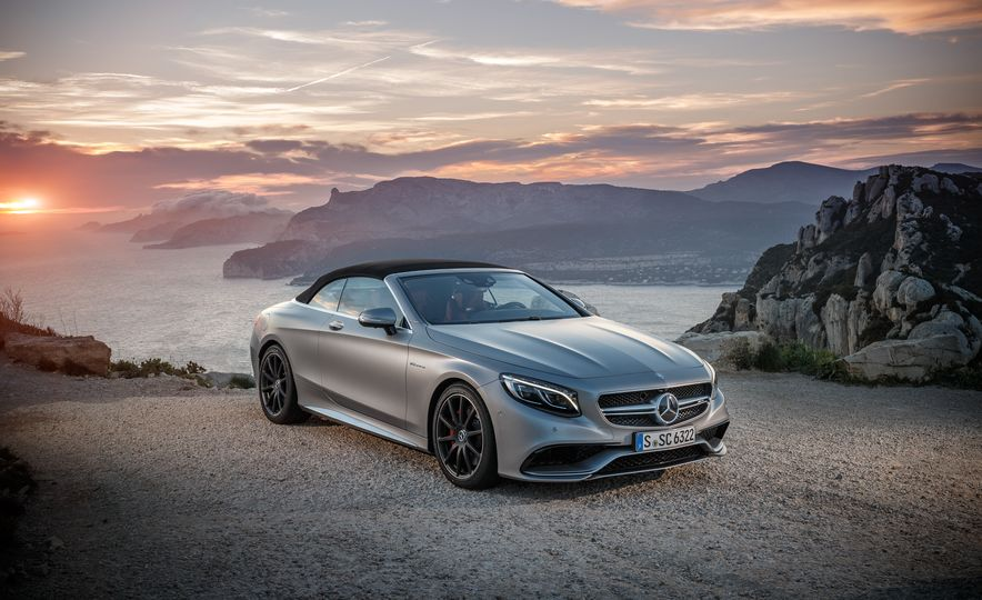 2017 Mercedes-Benz S500 cabriolet (Euro-spec) - Slide 64