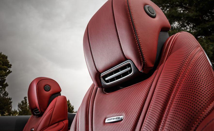 2017 Mercedes-Benz S500 cabriolet (Euro-spec) - Slide 85