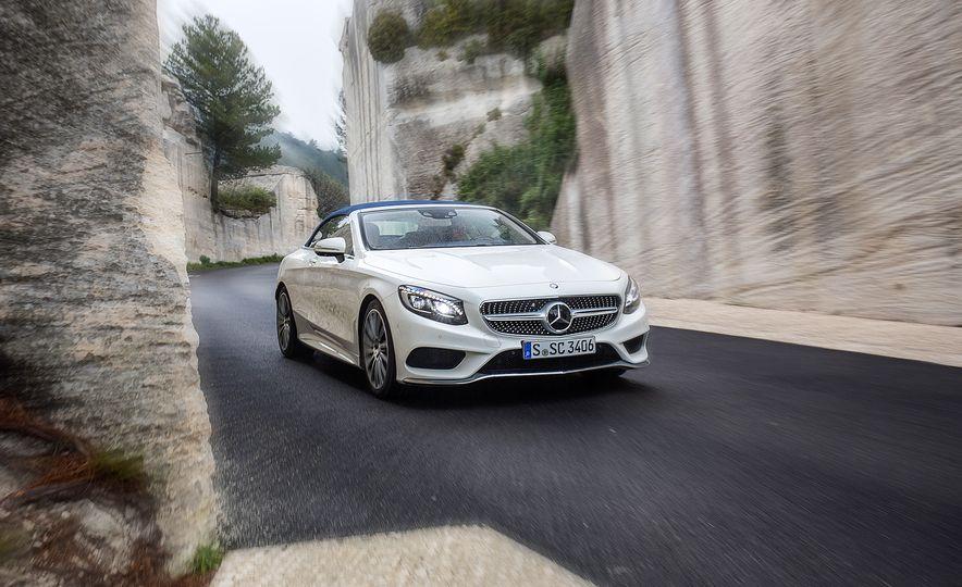2017 Mercedes-Benz S500 cabriolet (Euro-spec) - Slide 1