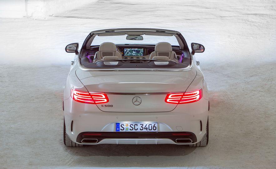 2017 Mercedes-Benz S500 cabriolet (Euro-spec) - Slide 13