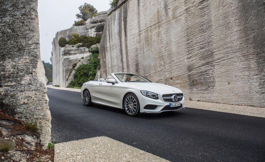 2017 Mercedes-Benz S500 cabriolet (Euro-spec) - Slide 14