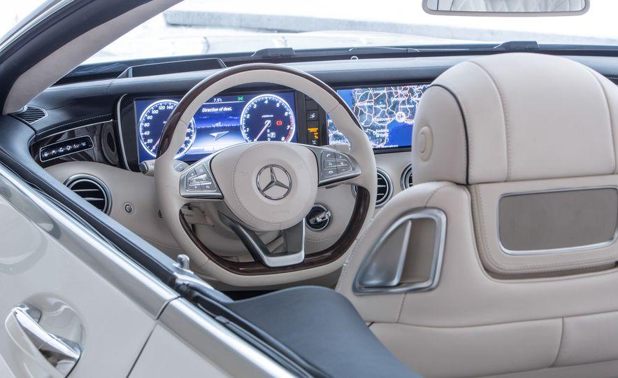 2017 Mercedes-Benz S500 cabriolet (Euro-spec) - Slide 19