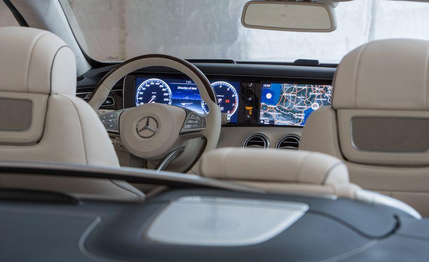 2017 Mercedes-Benz S500 cabriolet (Euro-spec) - Slide 20