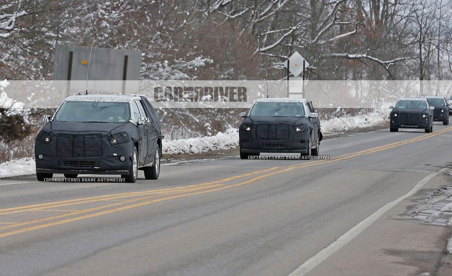2018 Chevrolet Traverse (spy photo) - Slide 1