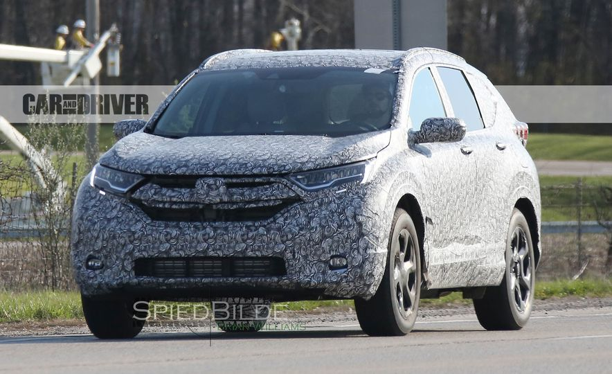 2018 Honda CR-V (spy photo) - Slide 1