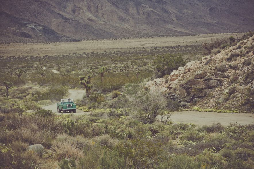 Destination Adventure: Driving the Mojave in a Land Rover Series IIA, Part 2 - Slide 3