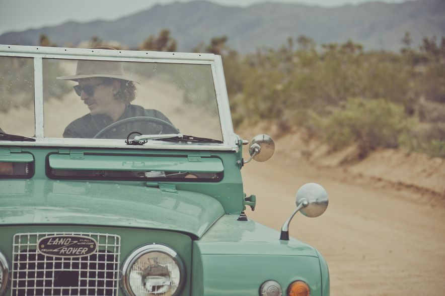 Destination Adventure: Driving the Mojave in a Land Rover Series IIA, Part 1 - Slide 3
