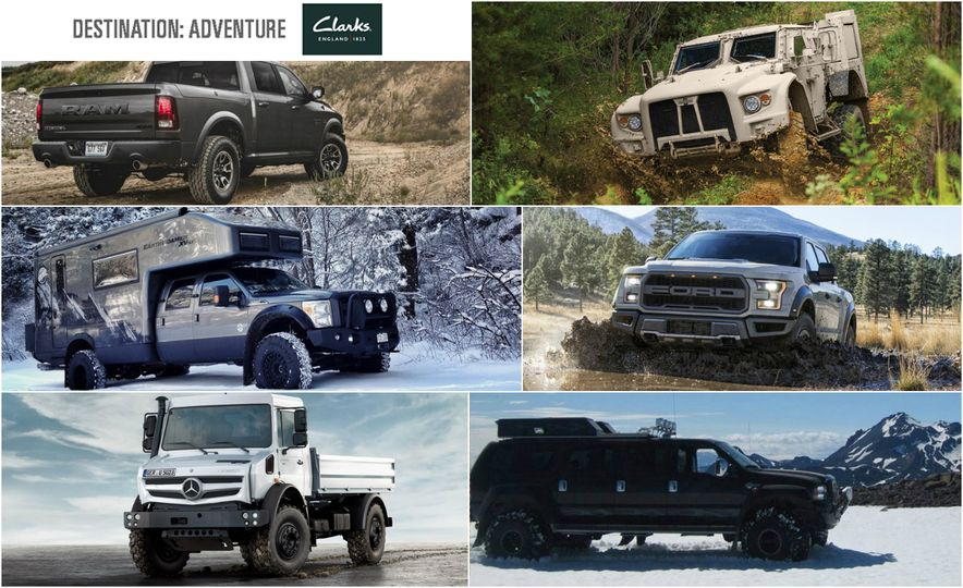 All-Terrain, For Real: 16 of the World's Most Capable Adventure Vehicles - Slide 1