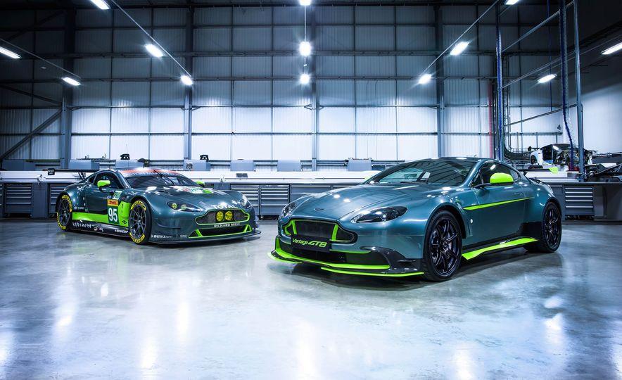Aston Martin Vantage GT8 and Aston Martin Vantage race car - Slide 2