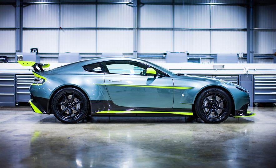 Aston Martin Vantage GT8 and Aston Martin Vantage race car - Slide 4