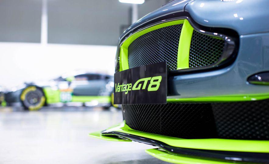 Aston Martin Vantage GT8 and Aston Martin Vantage race car - Slide 7
