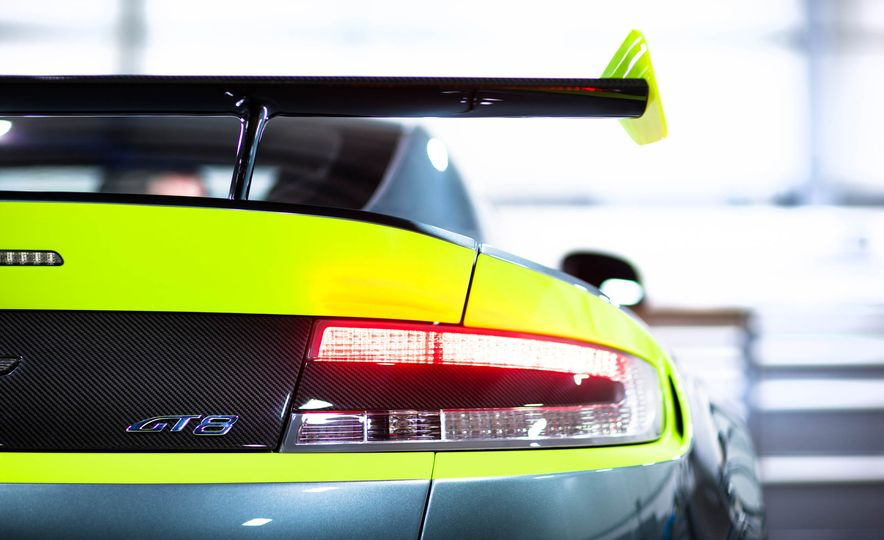 Aston Martin Vantage GT8 and Aston Martin Vantage race car - Slide 11