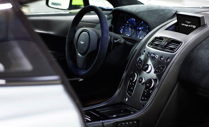 Aston Martin Vantage GT8 and Aston Martin Vantage race car - Slide 12