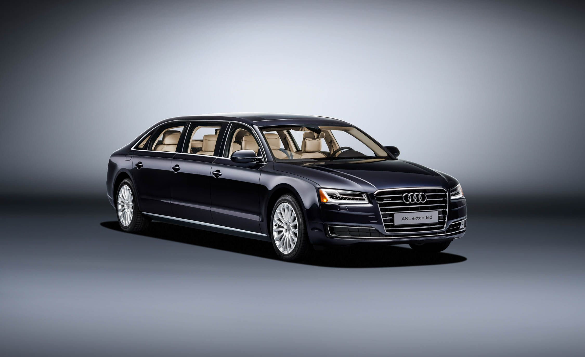 audi builds a six door a8l extended for one special customer