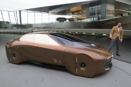More Details of the BMW Vision Next 100 Concept