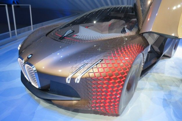 More Details of the BMW Vision Next 100 Concept - News - Car and Driver