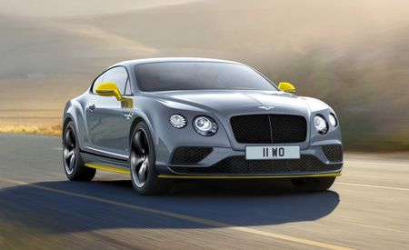 Speedier Speed: Bentley Continental GT Speed Gets Power Boost, New Black Edition