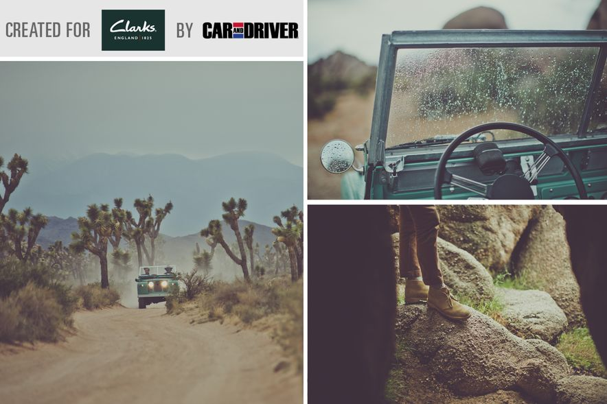Destination Adventure: Driving the Mojave in a Land Rover Series IIA, Part 2 - Slide 1