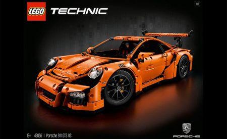Instant Want: Lego Releases 2704-Piece Porsche 911 GT3 RS Kit