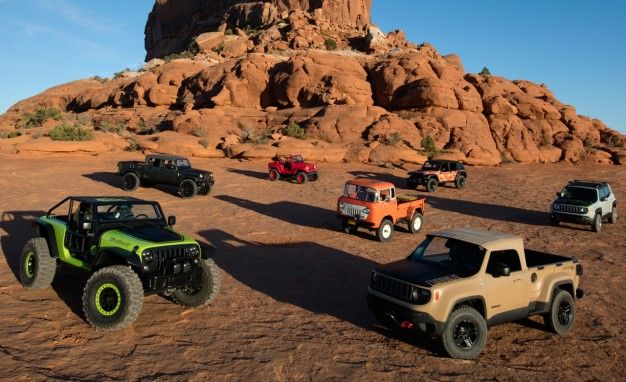 Adventures In Moab: We Tackle The Easter Jeep Safari U2013 Feature U2013 Car And  Driver