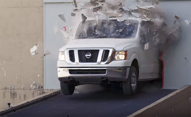 Nissan NV Cargo Van Drift Video Sets High Bar for Nation's Delivery Drivers
