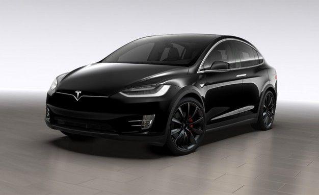 Tesla model x performance d